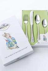 Keltum Kinderbestek Beatrix Potter 4 delig