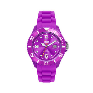 Ice Watch ICE  forever IW000141 horloge - Siliconen - Paars - Ø 40mm