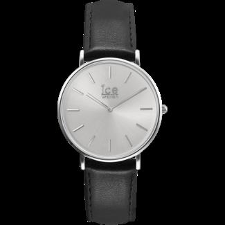 Ice Watch ICE classic  IW016226 horloge - Leer - Zwart - Ø 41mm