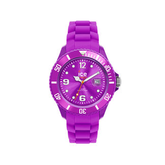 Ice Watch ICE forever IW000131 horloge - Siliconen - Paars - Ø 35mm