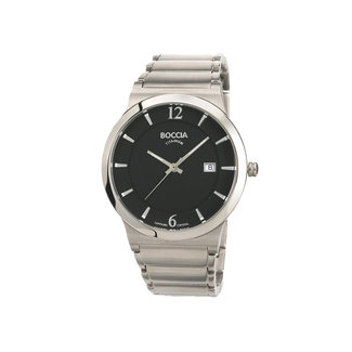 Boccia Boccia Titanium 3623.02 horloge - Titanium - Zilverkleurig - 38 mm