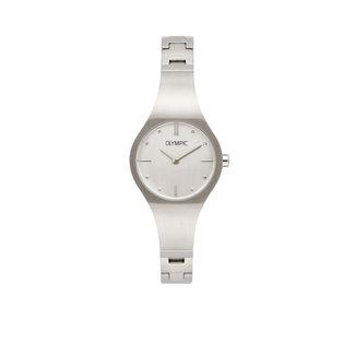 Olympic Olympic OL88DSS002 Horloge - Staal - Zilverkleurig - 26mm