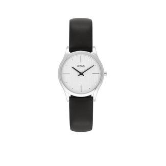 Olympic Olympic OL67DSL004 Horloge - Leer - Wit - 32mm