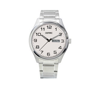 Olympic Olympic OL26HSS226 Fashion Horloge - Staal - Zilverkleurig - 40mm