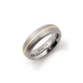 Boccia Unisexring Titanium Meerkleurig 0102-03
