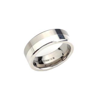 Boccia Unisexring Titanium Zilverkleurig 0107-02