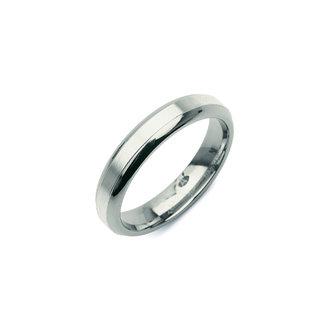 Boccia Unisexring Titanium Zilverkleurig 0122-01