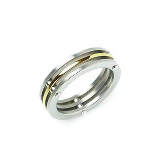 Boccia Unisexring Titanium Meerkleurig 0124-02