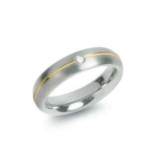 Boccia Boccia Titanium 0130-06 ring - Titanium - Meerkleurig