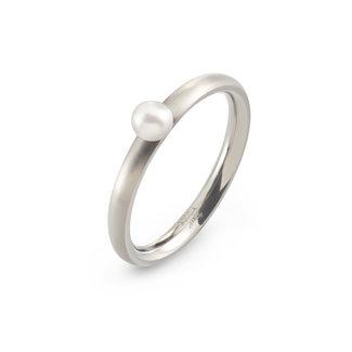 Boccia 0145-01 - Damesring - Titanium - Zilverkleurig