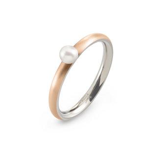 Boccia Boccia Titanium 0145-03 ring - Titanium - Rosékleurig