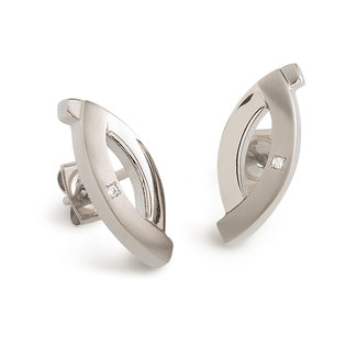 Boccia Boccia Titanium 0591-03 oorbellen - Titanium - Zilverkleurig