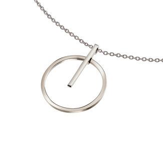 Boccia Boccia Titanium 07023-01 hanger - Titanium - Zilverkleurig