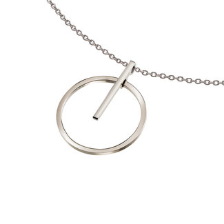 Boccia Dameshanger Titanium Zilverkleurig 07023-01