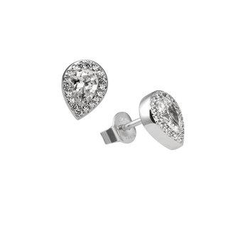 Diamonfire Damesoorbellen Zilver Zilverkleurig 62.1468.1082