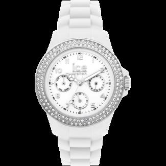 Ice-Watch Dameshorloge Siliconen Wit Ø40 IW000244