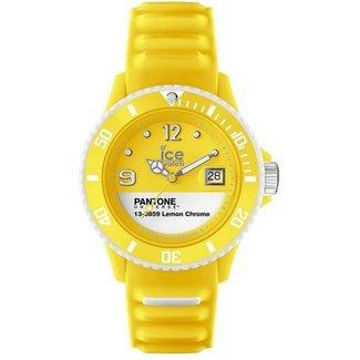 Ice-Watch Unisexhorloge Siliconen Geel Ø40 IW000804