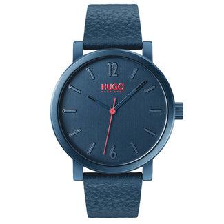 Hugo Boss Herenhorloge Leer Blauw Ø42 HU1530116