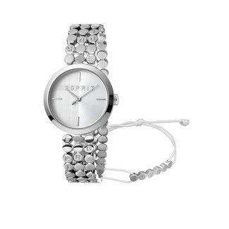 Esprit Horloge dames Staal Zilverkleurig Ø30 ES1L018M0015