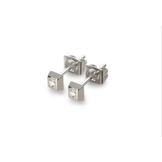 Boccia Damesoorbellen Titanium Zilverkleurig 0538-01