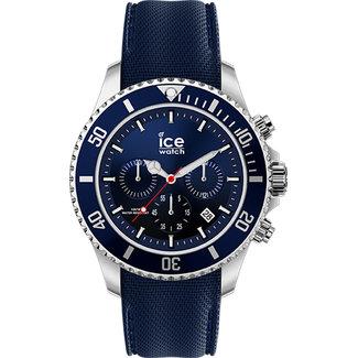 Ice-Watch Herenhorloge Siliconen Blauw Ø40 IW017929