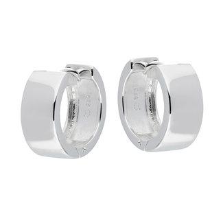 Silver Lining Unisexoorbellen Zilver Zilverkleurig 16mm 107.0080.16