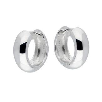 Silver Lining Unisexoorbellen Zilver Zilverkleurig 16mm 107.0104.16