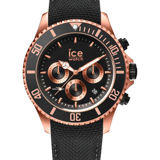 Ice-Watch Herenhorloge Siliconen Zwart Ø44 IW016305