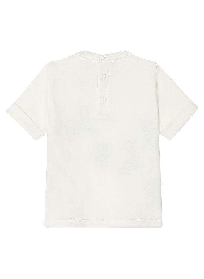 Betit Bateau T-Shirt creme Leoparden