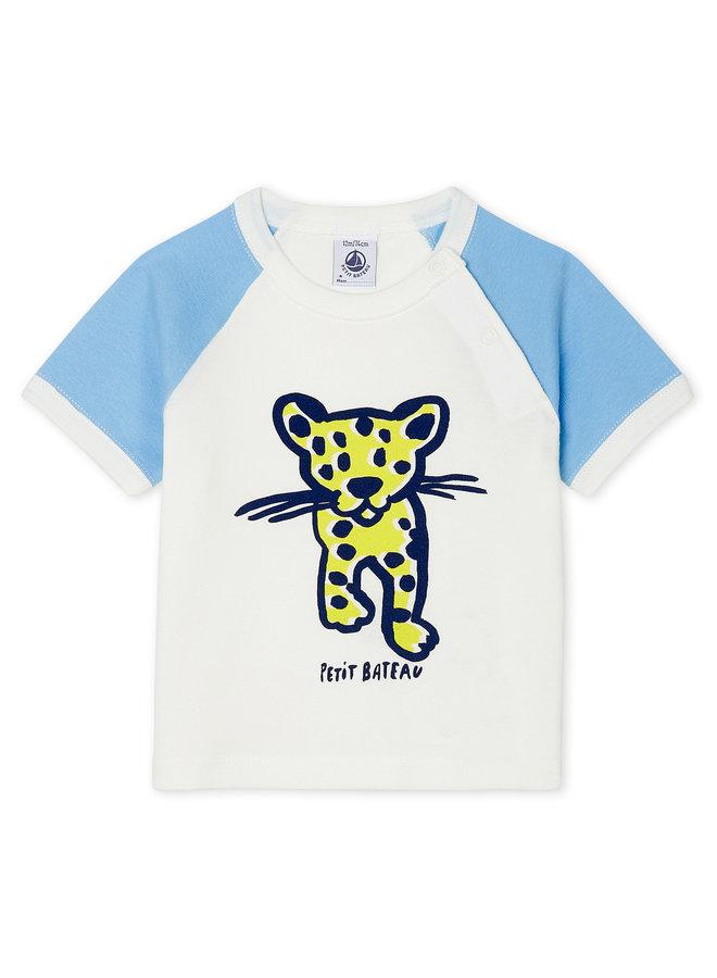 Petit Bateau T-Shirt Leopard