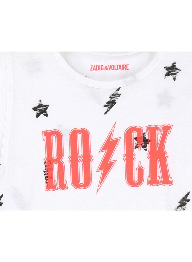 Zadig & Voltaire T-Shirt ROCK weiß pink