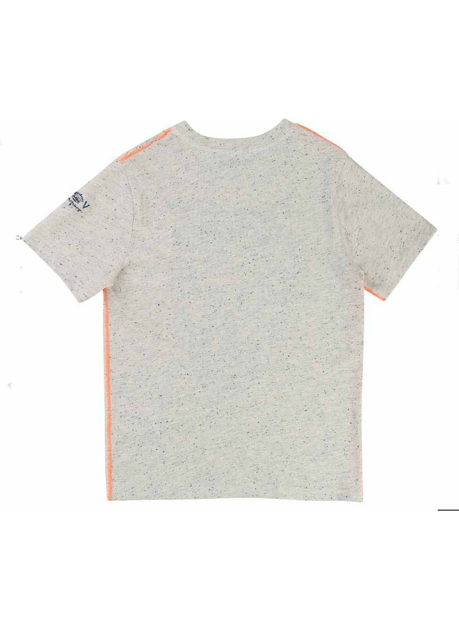 Zadig & Voltaire T-Shirt Scull Totenkopf greymelange