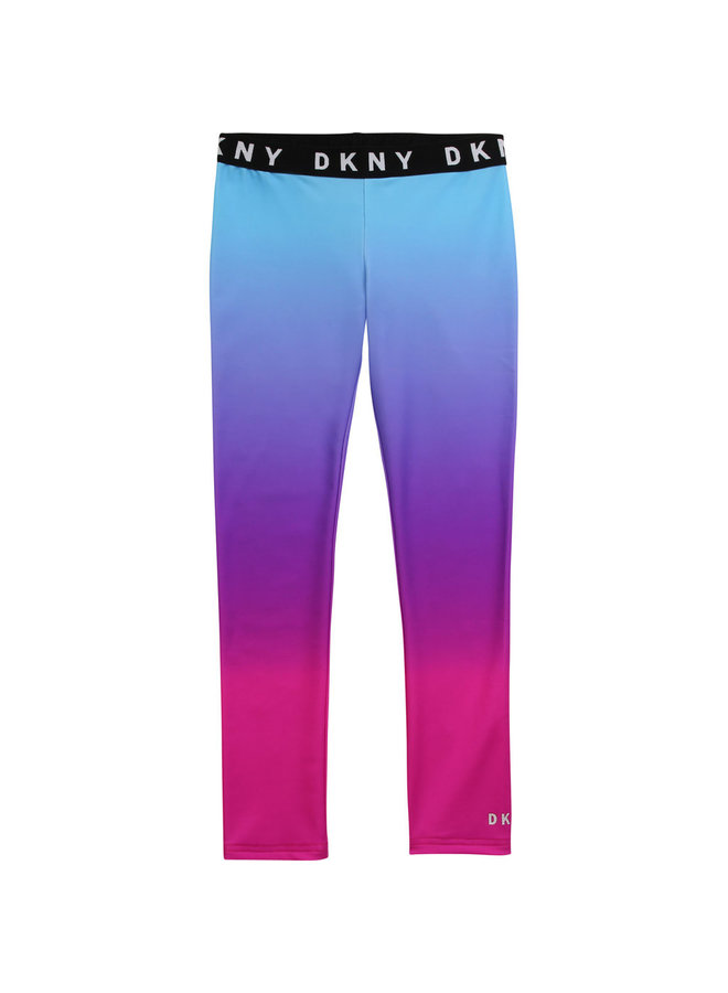 DKNY KIDS Leggings pink blau