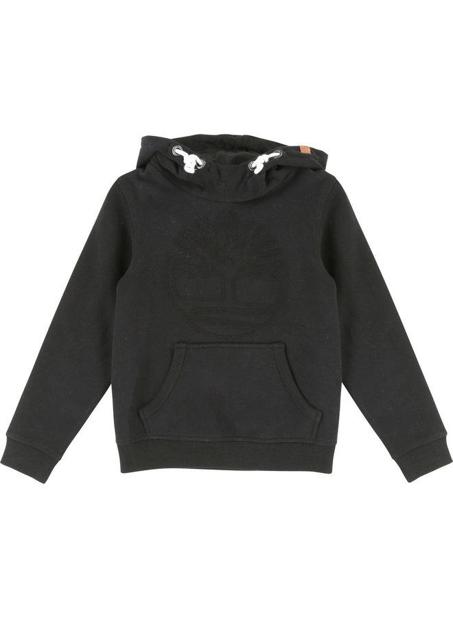 Timberland Hoodie schwarz mit Logo
