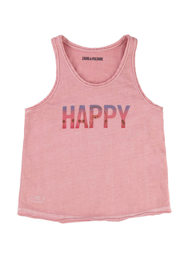 Zadig & Voltaire Top Happy rosa