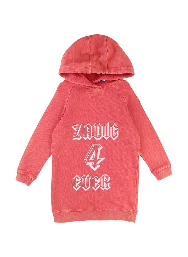 Zadig & Voltaire Kleid Mini Me rot