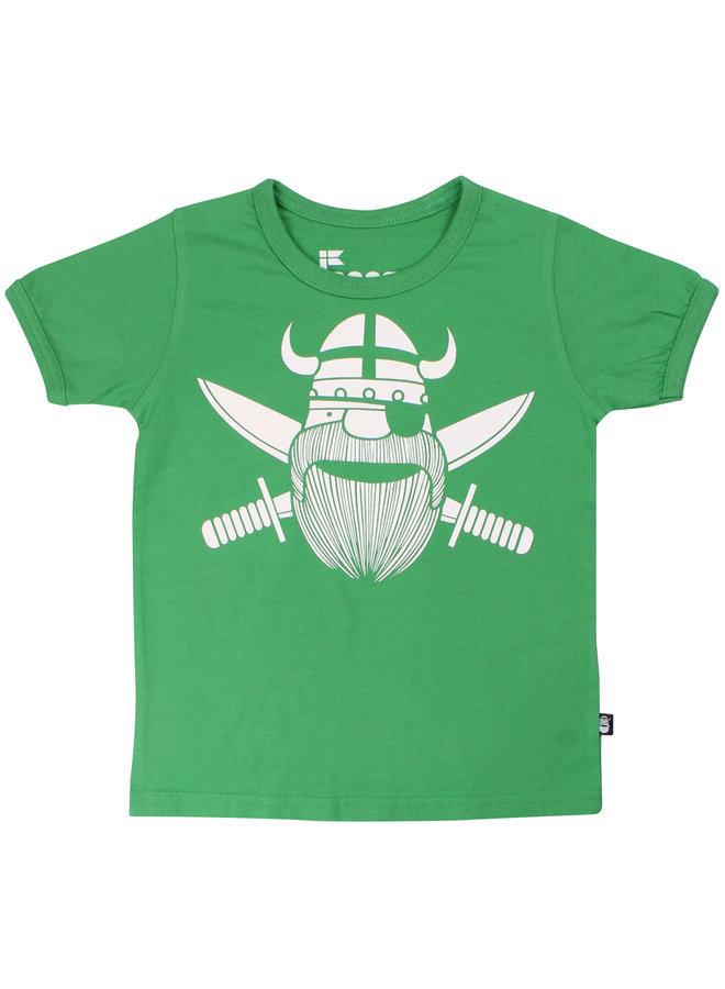 DanefaeT-Shirt Pirat grün