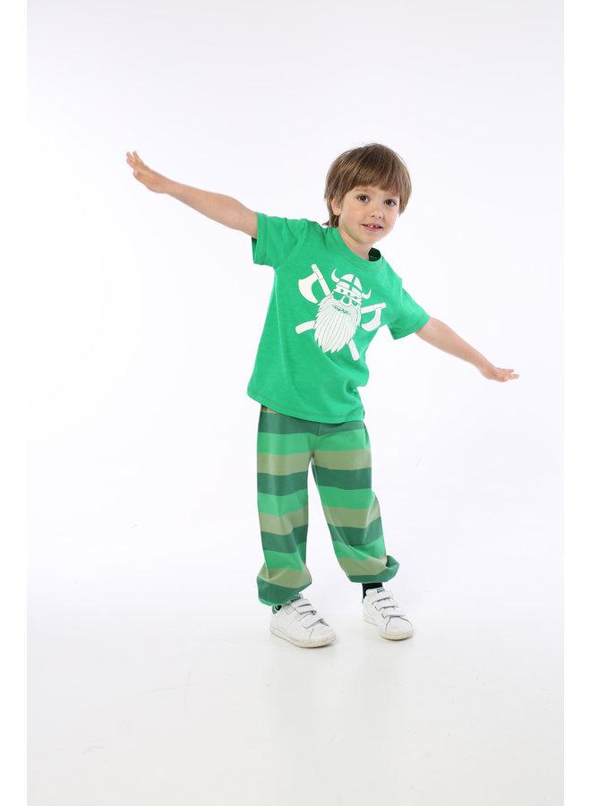 Danefae T-Shirt Pirat grün Pirate kaktus grün