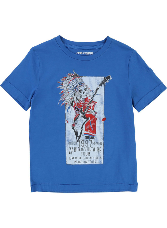 Zadig & Voltaire T-Shirt Scull Totenkopf