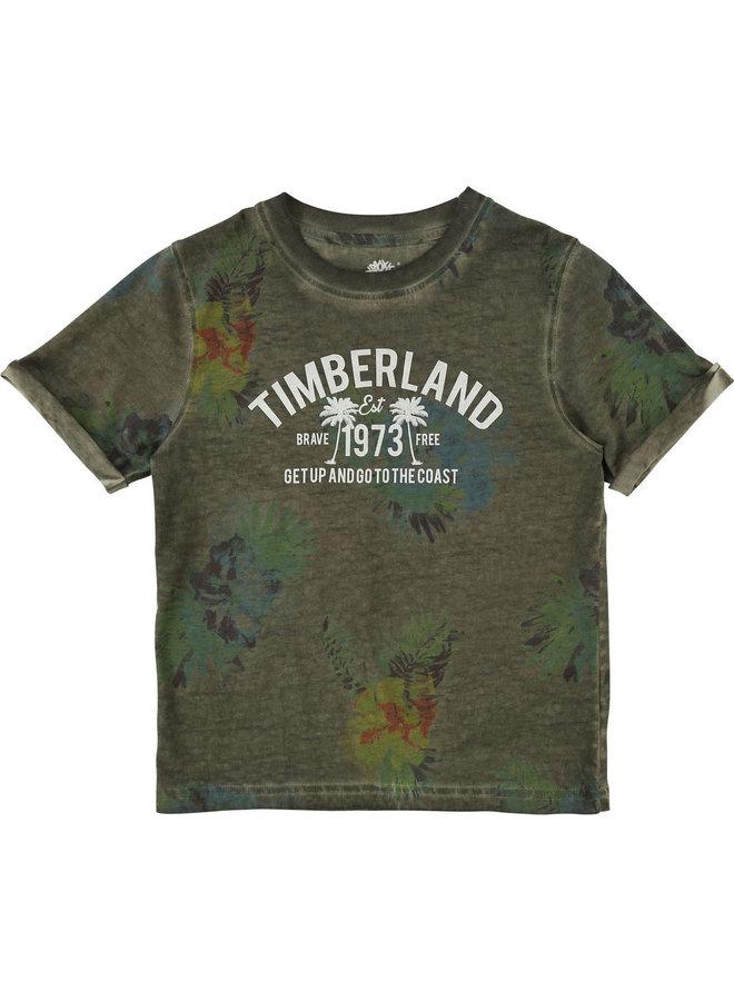 Timberland T-Shirt khaki