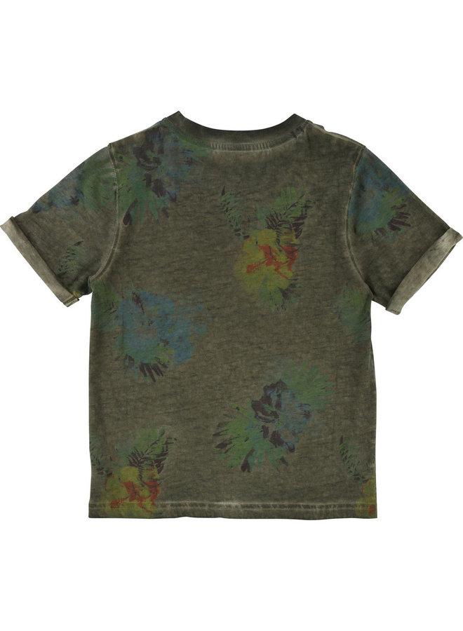 ´Timberland T-Shirt khaki Palmen