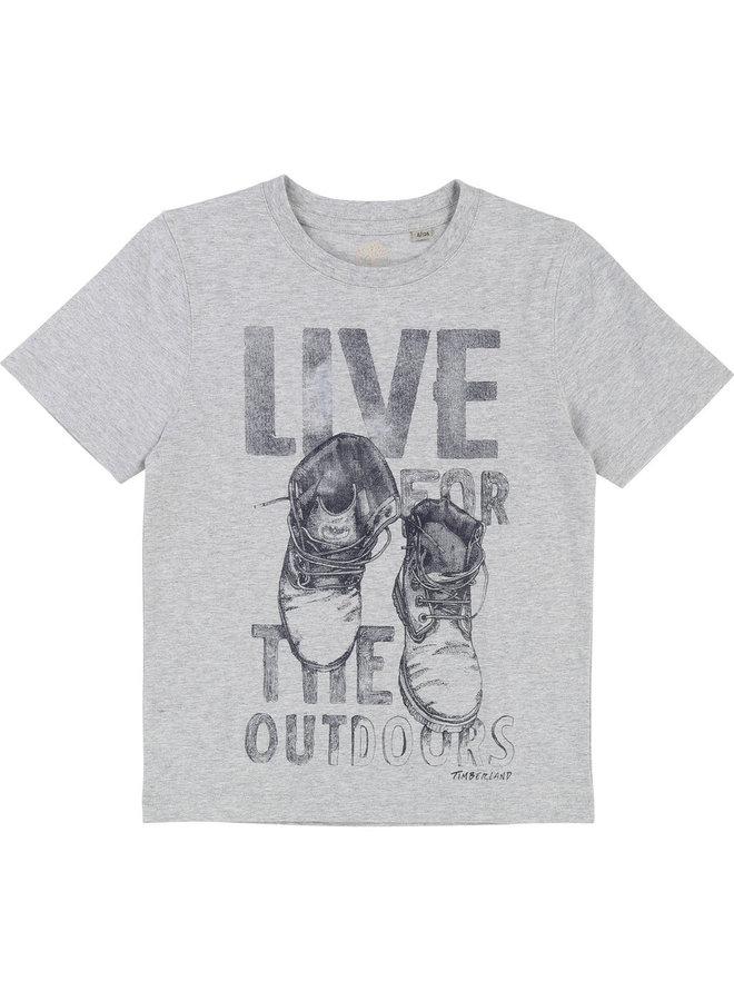 Timberland T-Shirt Schuhprint