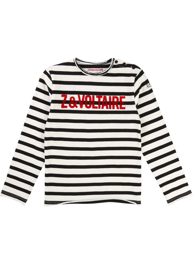 Zadig and Voltaire Longsleeve marine
