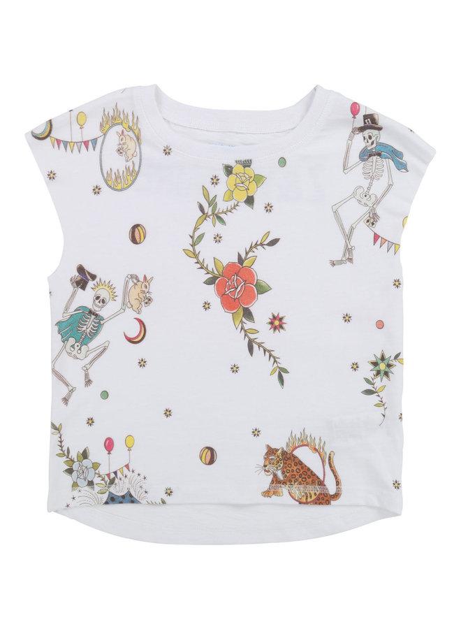 Zadig &Voltaire T-Shirt mit Rosen