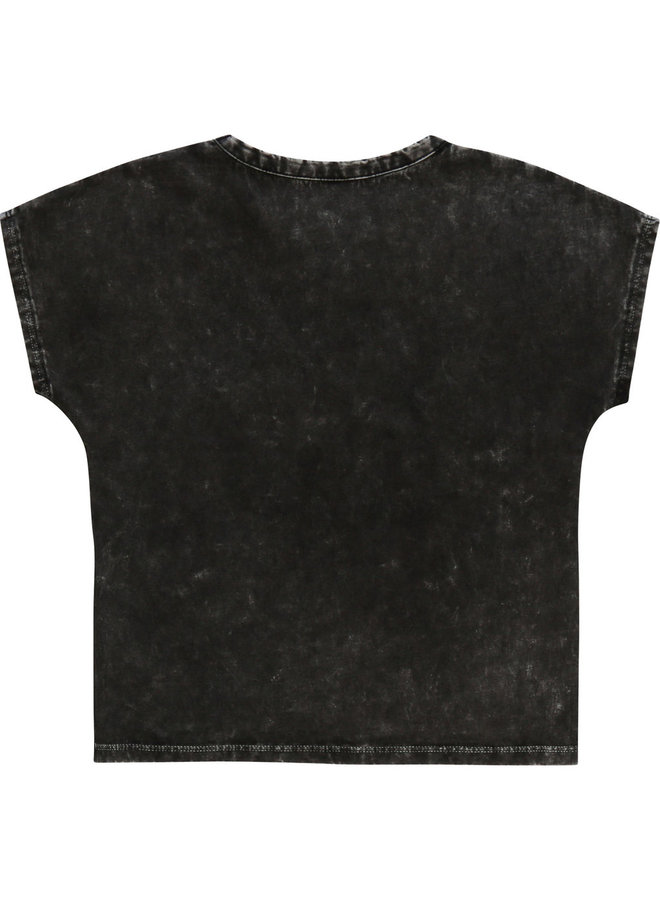 Zadig & Voltaire T-Shirt Vintage Rock schwarz