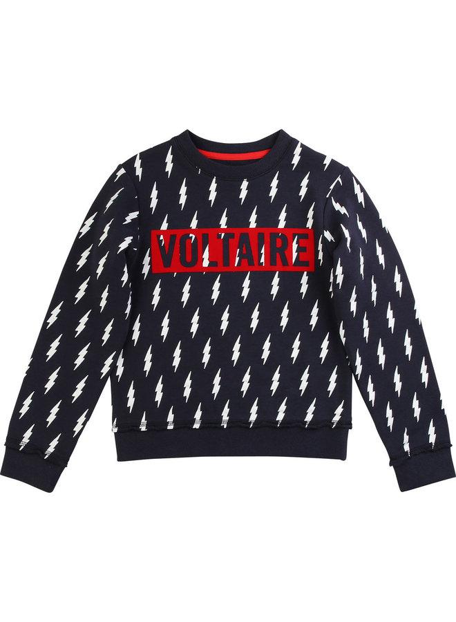 Zadig & Voltaire Sweatshirt Blitze navy