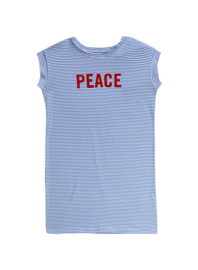 Zadig & Voltaire Shirtkleid gestreift