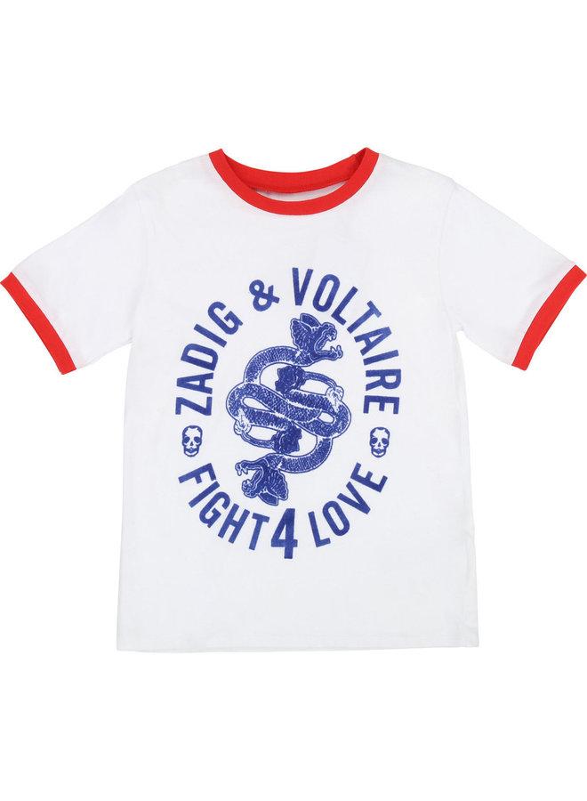 Zadig & Voltaire T-Shirt Schlange Hydra