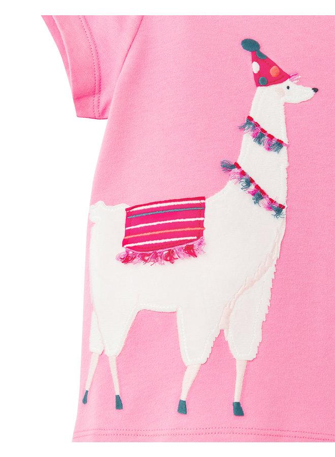 TOM JOULE T-Shirt Maggie Lama rosa