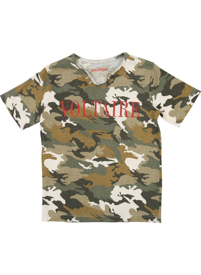 Zadig &Voltaire T-Shirt Camouflage